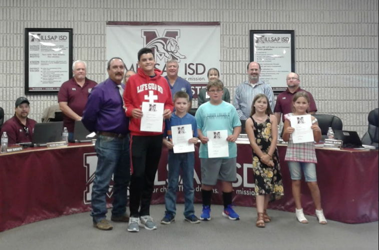 Students recognized for Stock Show Honors